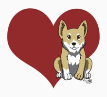 Welsh Corgi Love by Liz Staley