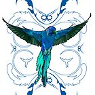 Blue Parrot 2 by Adamzworld