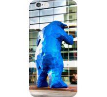 Blue Bear iPhone iPhone Case/Skin