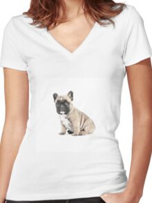 Love your Wrinkles Women's Fitted V-Neck T-Shirt