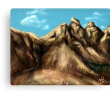 Road to Pale Mountain Canvas Print