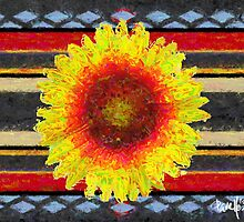 Indian Blanket by JimPavelle