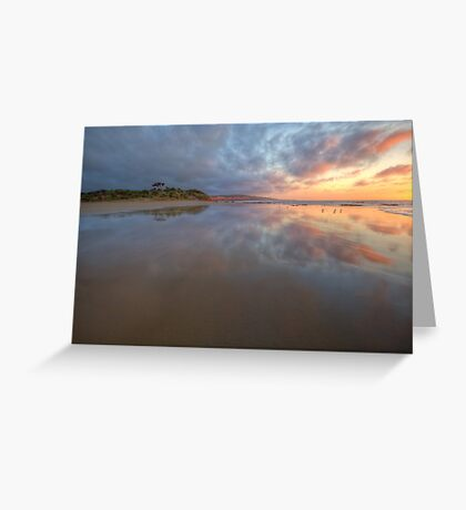 COLOURS OF THE MORNING Greeting Card