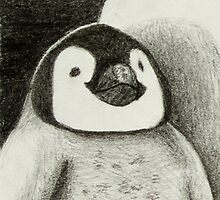 Baby Penguin  by jkartlife