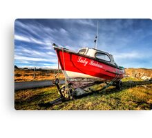 Lady Barbara High and Dry Canvas Print