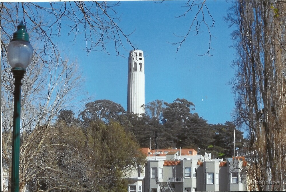 Coit Tower by RobynLee