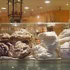 Giant meringues by Caroline Clarkson
