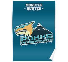 Monster Hunter All Stars - Pokke Permafrosts Poster