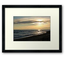 more sunsets Framed Print