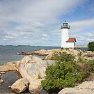 Annisquam Harbor Lighthouse by Jack Ryan