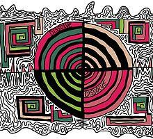 Dissolve Abstract 7 by Sarah Mattock