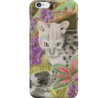 Genet cat iPhone Case/Skin
