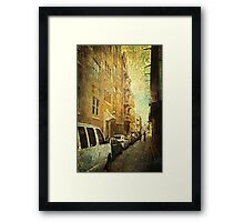 New Meets Old San Juan Framed Print
