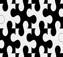 Puzzle pieces- iphone case by ksully