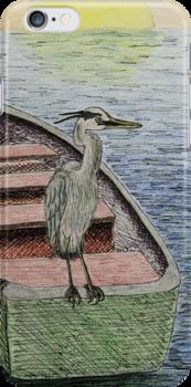 Great Blue Heron by jkartlife