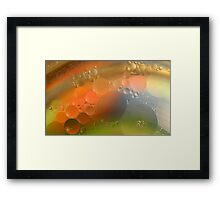 Oil in water #7 Framed Print