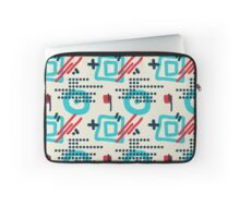 Modern hand draw colorful abstract seamless pattern Laptop Sleeve