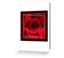 Valentine Greeting Card