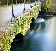 Packhorse bridge by Cat Perkinton