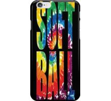 Tye dye Softball - iphone case iPhone Case/Skin