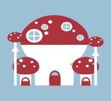 Mushroom Home Kids Tee