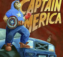 Captain Merica by Brian DeYoung