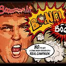 Donald J. Trump Terrific Comic Book Campaign. by Alex Preiss