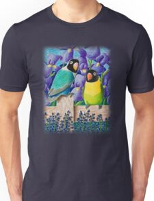 Black-faced Lovebirds Unisex T-Shirt