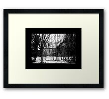 Abandoned House At The Site Of Nikola Tesla's Wardenclyffe Laboratory - Shoreham, New York  Framed Print