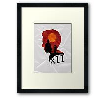 The Twelfth Doctor Framed Print