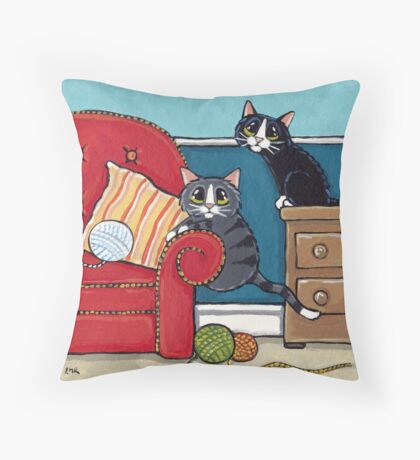 Almost Got It Throw Pillow