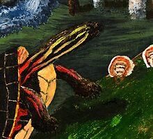 Painted Turtle by jkartlife