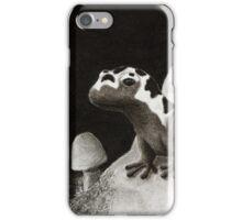 Marbled Salamanders On Rock iPhone Case/Skin