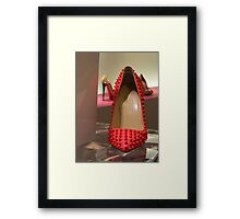 RED is beautiful Framed Print
