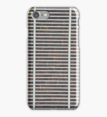 White striped iphone case iPhone Case/Skin