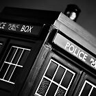 An Old Police Box. by Nicholas Griffin