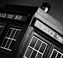 An Old Police Box. by Nick Egglington