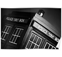 An Old Police Box. Poster