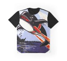 VP 49 Orcas WWII Crest Graphic T-Shirt