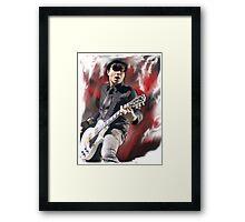 Frank Iero!  Framed Print