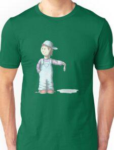 Boy with Tuna fish Unisex T-Shirt
