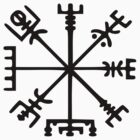 Vegvísir (Viking Compass) by tinybiscuits