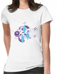 Rarity Swirl Womens Fitted T-Shirt