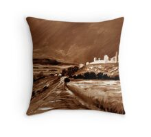 Cashel From the old pilgrim road. Throw Pillow