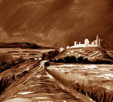 Cashel From the old pilgrim road. by Tipptoggy