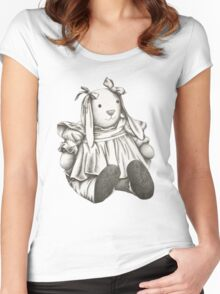 Bunny Rabbit Women's Fitted Scoop T-Shirt