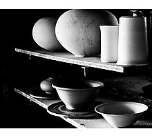 Pots in the Early Morning Light Photographic Print