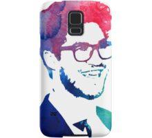 blue/green/pink glasses Samsung Galaxy Case/Skin