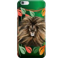 Big Cat and Colorful Jungle iPhone Case/Skin
