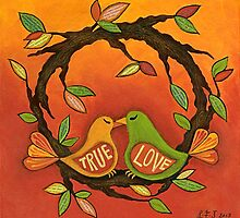True Love by Lisa Frances Judd~QuirkyHappyArt